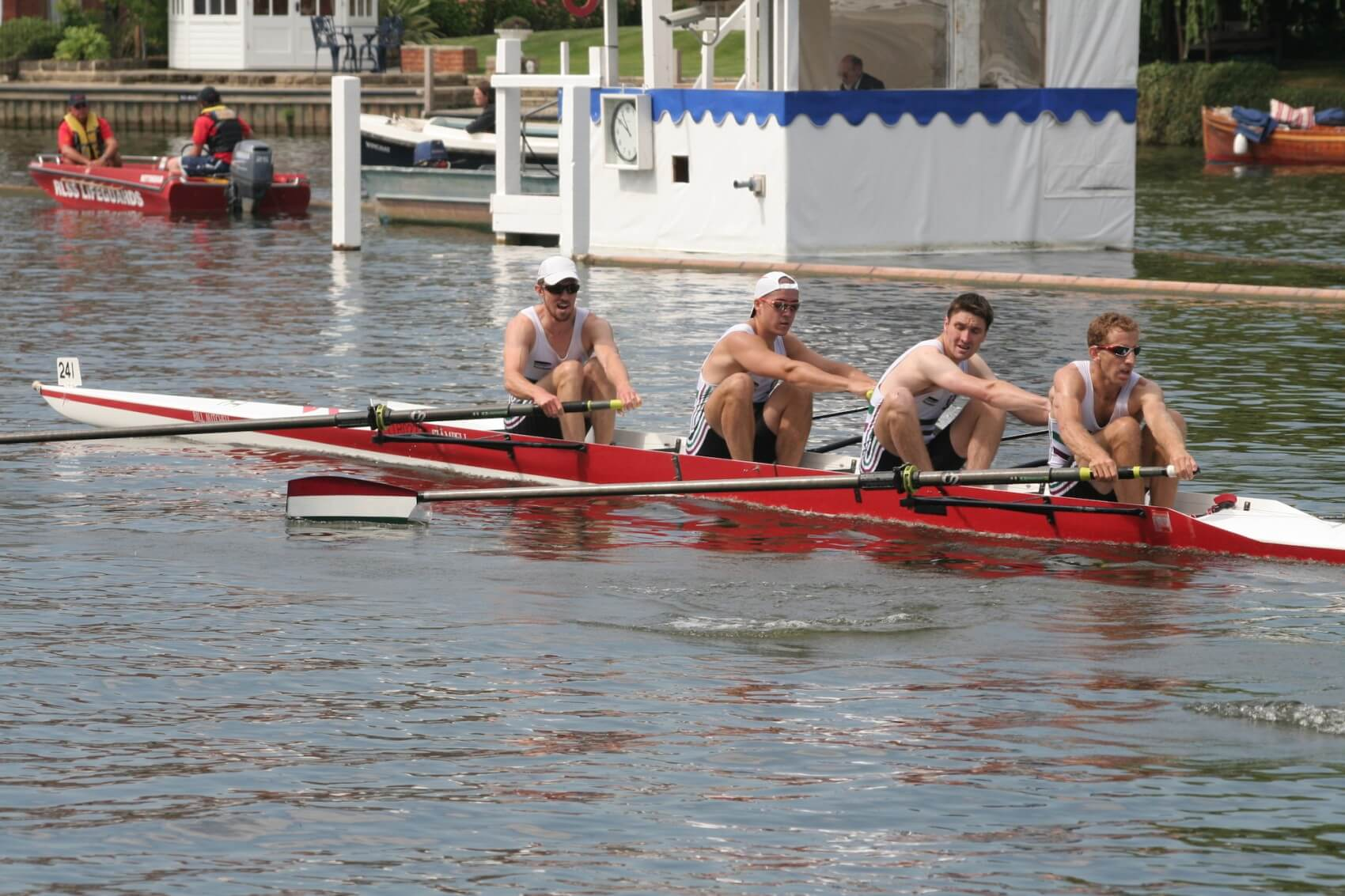 Men's Four from Thames Tradesmen's Rowing Club at Henley Royal Regatta