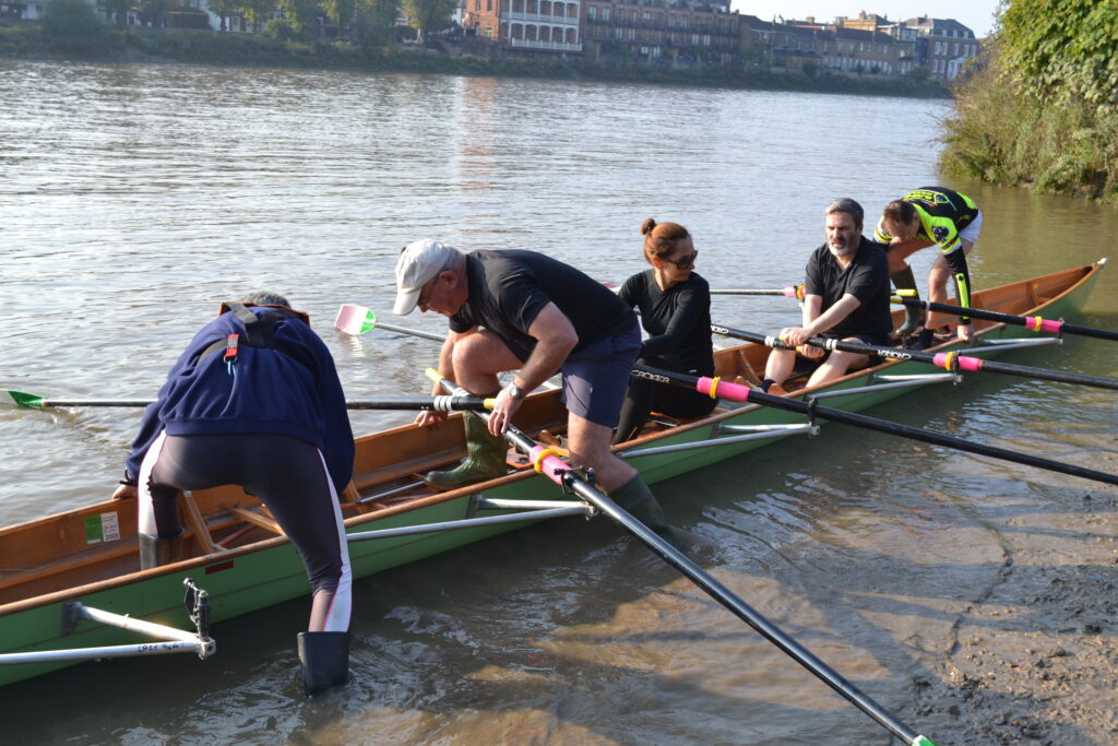 Learn to Row TTRC